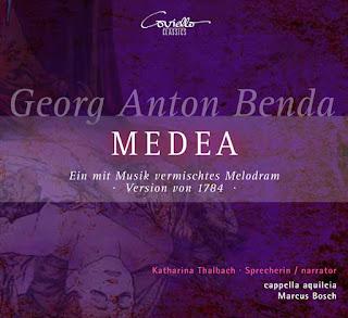 Benda Medea; Katharina Thalbach, Cappella Aquileia, Marcus Bosch; Coviello Classics