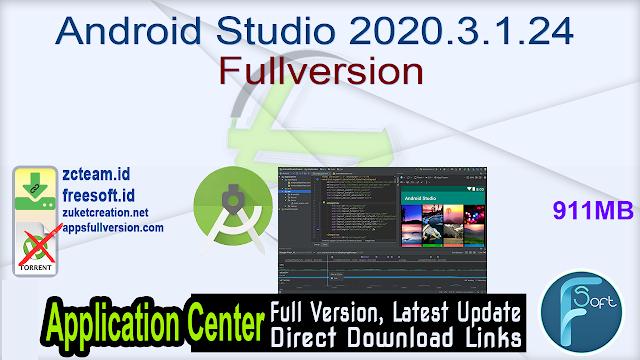 Android Studio 2020.3.1.24 Fullversion