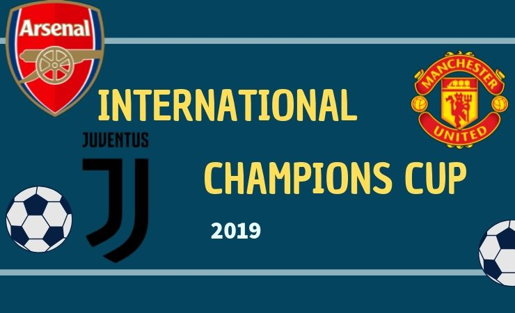 International Champions Cup 2019 Teams