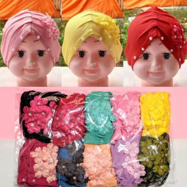 Turban Anak Bunga FA-077