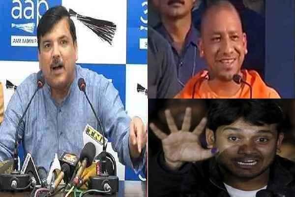 sanjay-singh-tweet-in-support-of-kanhaiya-kumar-beaten-lucknow