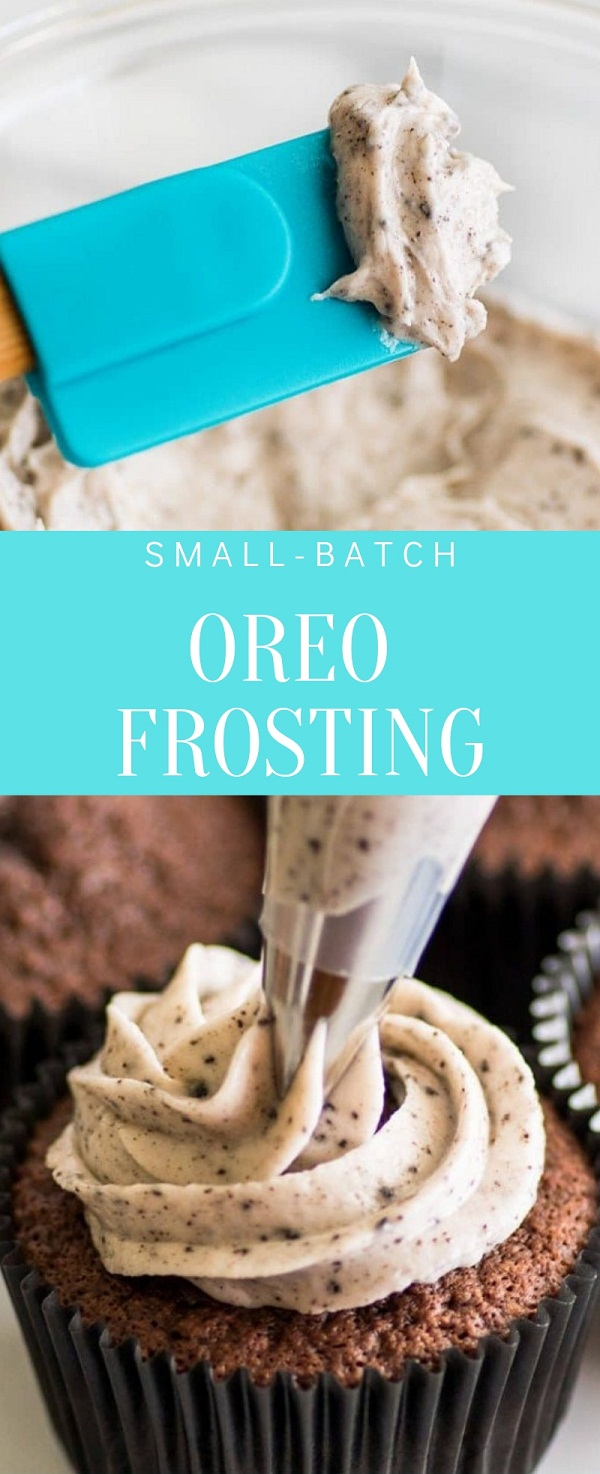 Small-batch Oreo Frosting