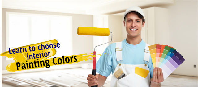 Warm, cold, pastel... Learn to choose your interior Painting Colors.