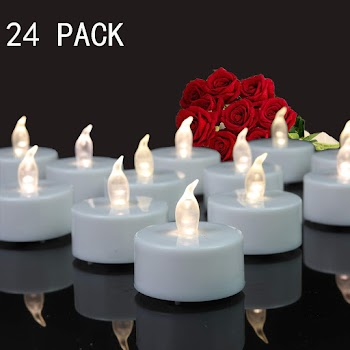 Tea Lights, 24 Pack 40% off