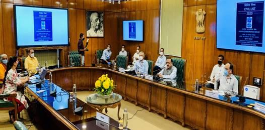 Launch-of-IAS-Civil-List-2020