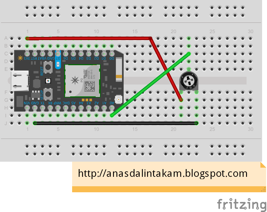 Wiring it My Way: Particle Photon MQTT Integration With Adafruit io