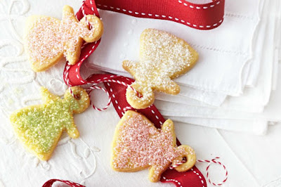 Shimmering angel shortbread desserts recipes