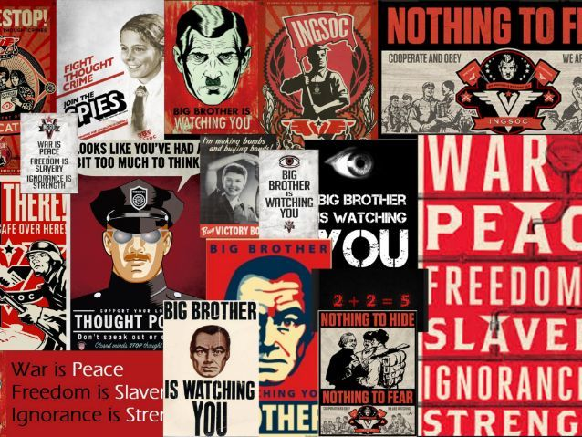 Nineteen Eighty-Four, George Orwell, Books, Science Fiction