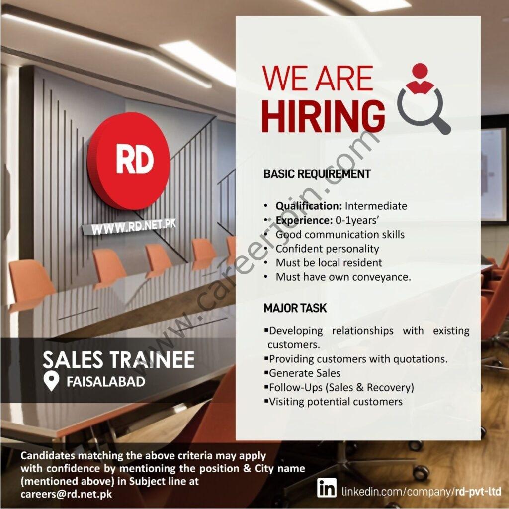careers@rd.net.pk - Ruba Digital Pvt Ltd RD Jobs 2021 in Pakistan