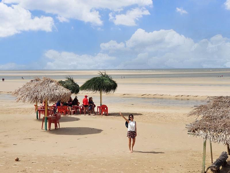 Foz do Rio Amazonas Ilha de Marajó