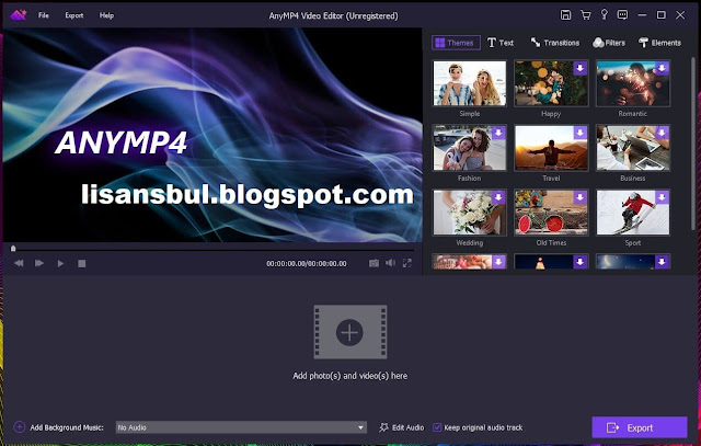 anymp4 video editor download