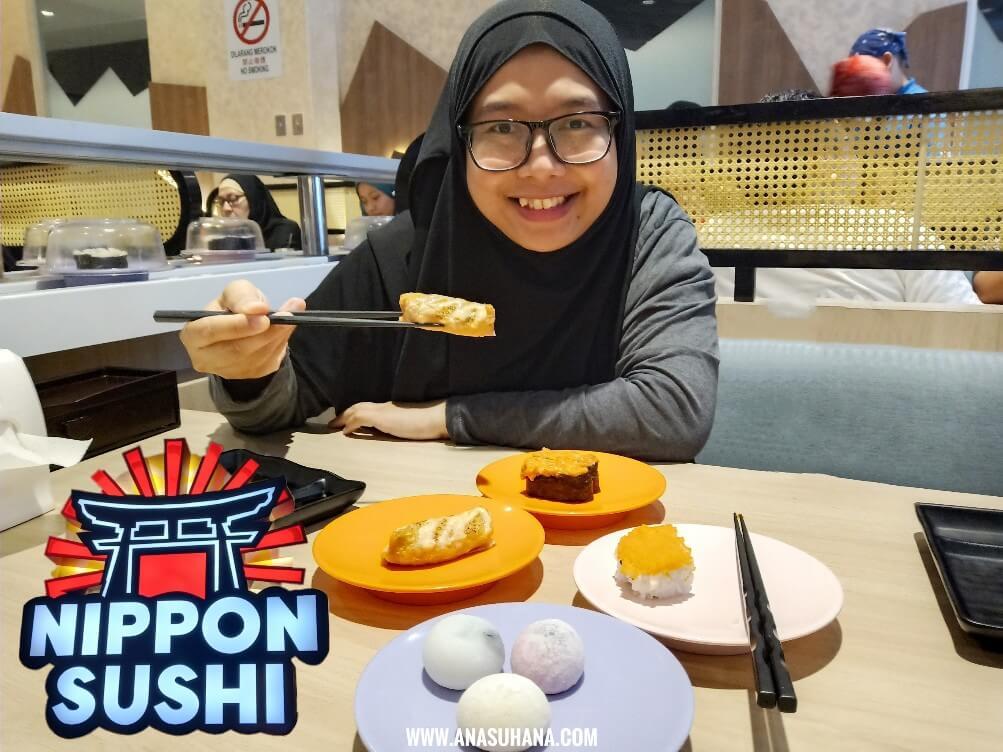 Sushi Halal di Nippon Sushi Batu Caves