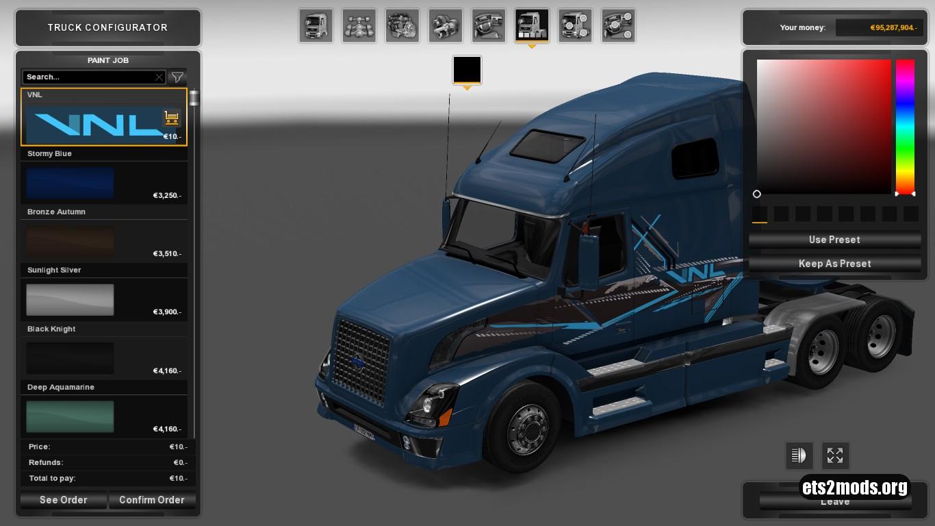 Volvo VNL 670 VNL Skin