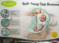 Baby Bouncer Weeler 6768 Soft Snug Opp