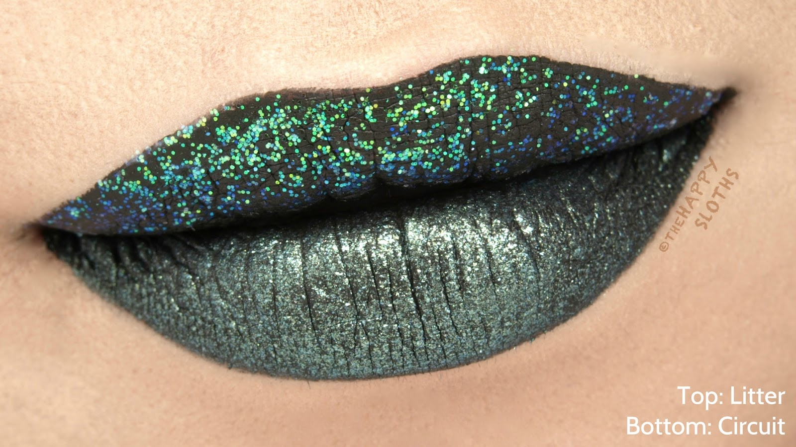 "Urban Decay Vice Special Effects Long-Lasting Water-Resistant Lip Topcoat in ""Litter"" & ""Circuit"": Review and Swatches"
