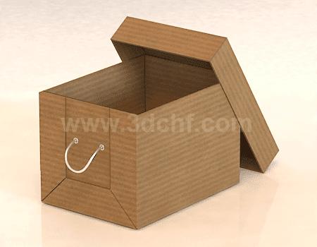 free 3d model paper box