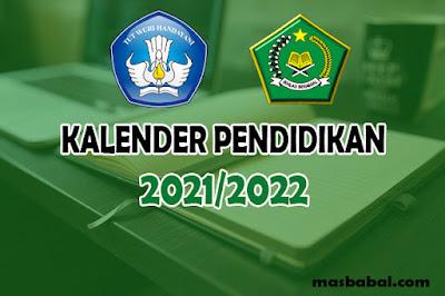 Kalender Pendidikan Tahun Ajaran 2021/2022 yaitu Kalender Pendidikan Tahun Ajaran Baru untuk Semua Provinsi di Indonesia yang juga termasuk hari libur semester untuk semua jenjang pendidikan baik itu PAUD, TKLB, SD, SLB, SMP, SMAdan SMK yang telah ditetapkan sesuai dengan keputusan kepala dinas pendidikan terkait dengan kalender pendidikan