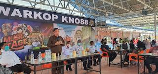 Pjs Bupati Labuhanbatu Hadiri Grend Opening Warkop KNO 88