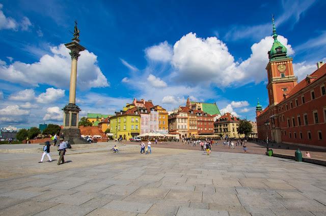Plac Zamkowy e palazzo reale-Varsavia