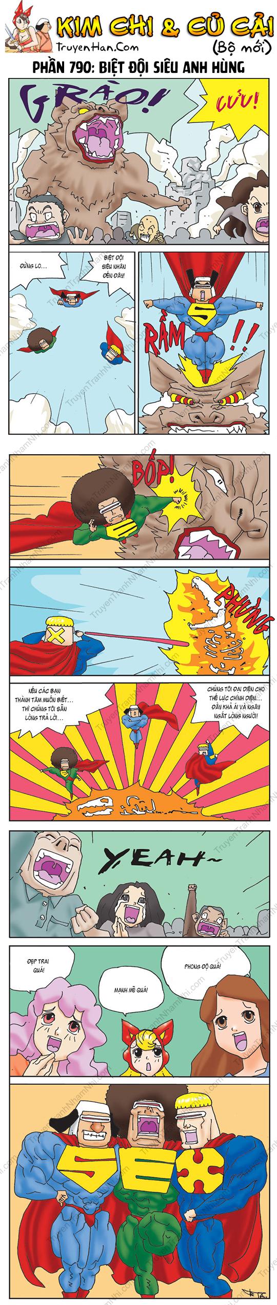 Kim Chi Và Củ Cải Phần 790: Biệt đội siêu anh hùng
