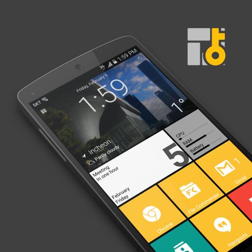 Square Home 3 – Launcher : Windows style v2.1.0 [Premium] + Key 2020