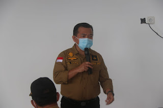 Kunjungi Tebo Gubernur Lakukan Koordinasi Aktif Dengan Tim Satgas Covid Tebo