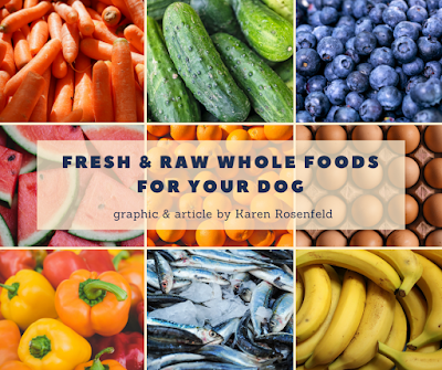 Fresh, ran and whole food for your dog's health