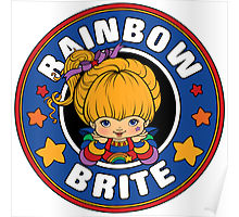 Rainbow Brite 80s Cartoon Poster