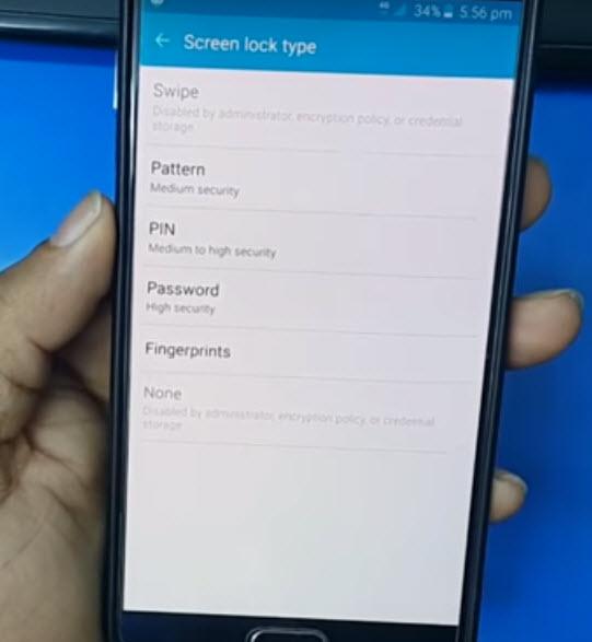 Mengatasi Lock Screen Disable By Direktur Di Hp Android (Samsung, Oppo, Asus, Lenovo, Xaomi)