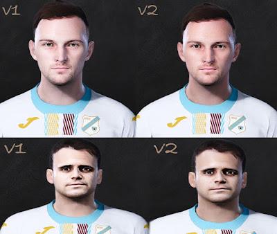 PES 2021 Faces Ivan Tomečak & Franko Andrijašević by Lukasedam7