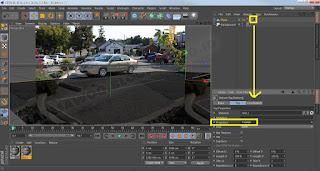 Menggabungkan Foto Dengan Obyek 3 Dimensi Menggunakan Cinema 4D