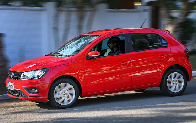 Os carros mais vendidos do Brasil em 2019