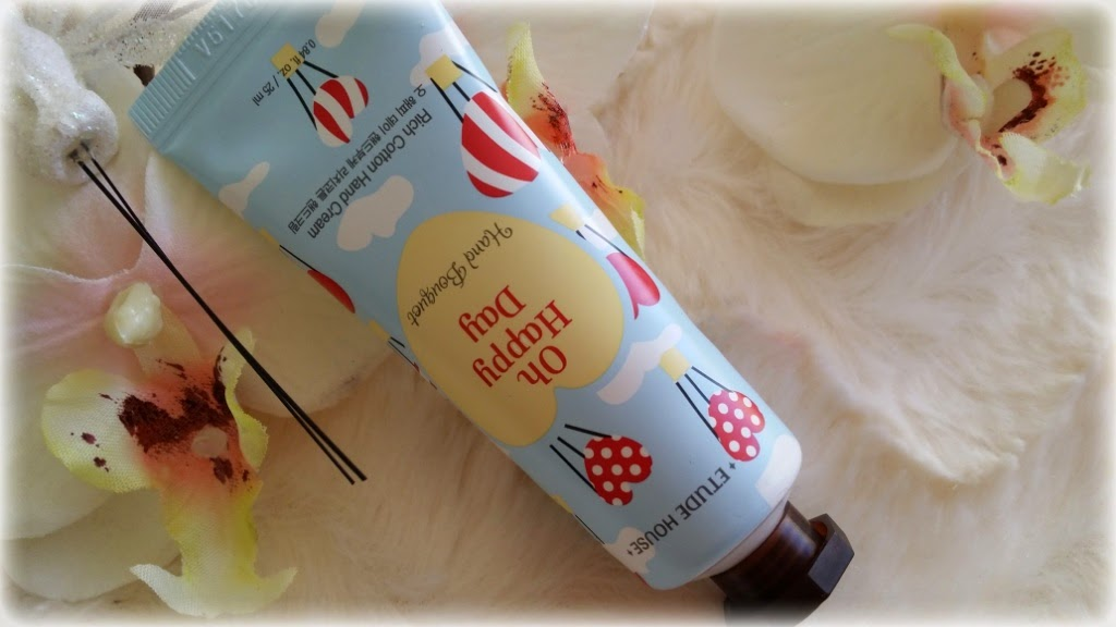 Review ~Etude House - Oh Happy Day - Rich Cotton Hand Cream~