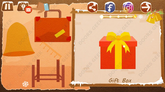 Chigiri: Paper Puzzle Christmas Pack Level 23 (Gift Box) Solution, Walkthrough, Cheats