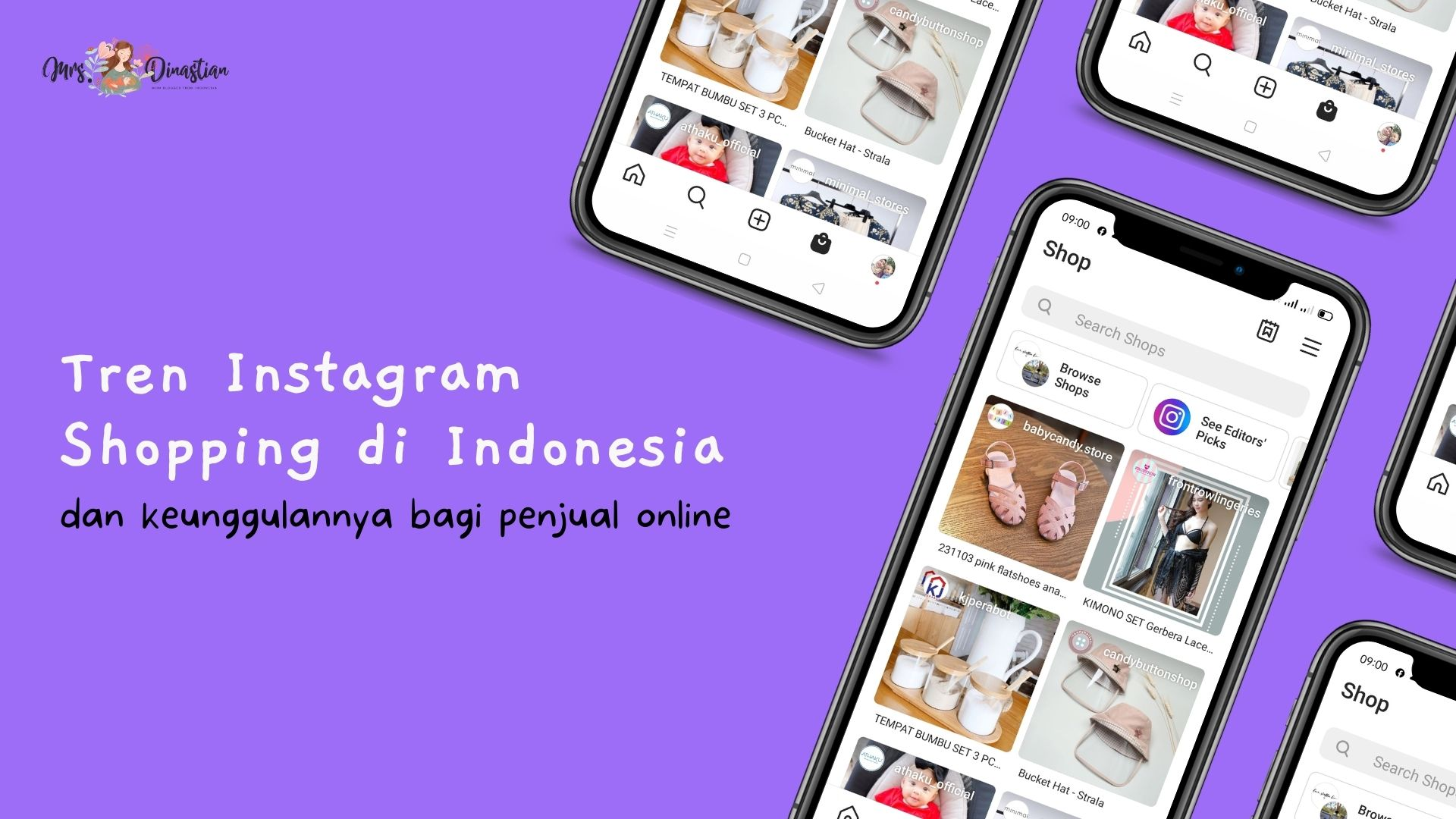 Tren Instagram Shopping di Indonesia