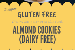 Almond Cookies {Gluten free and Dairy Free} #glutenfree