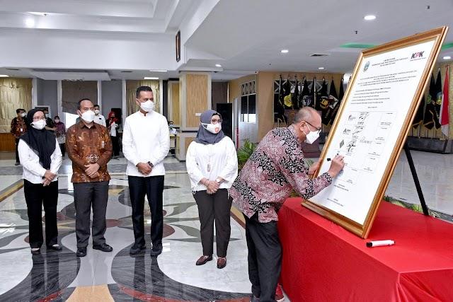 BUMD Pemprov Sumut Tandatangani Komitmen Bersama Cegah Korupsi