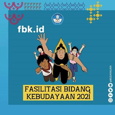 bantuan pemerintah fasilitas bidang kebudayaan (fbk) 2021
