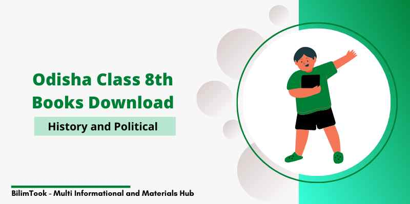 Odisha Class 8th History & Political Science Book PDF Download 2020