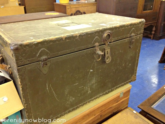 Thrift Store Shopping Inspiration (Trunk), via Serenity Now