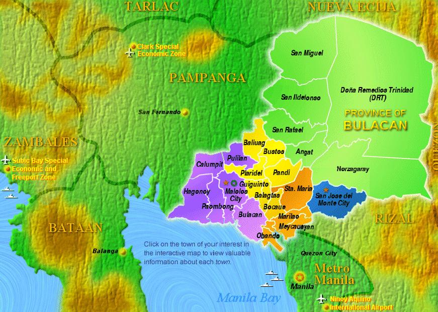 region map NUEVA ECIJA List of DepEd