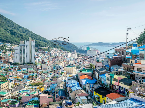 Busan Gamcheon Culture Village @ South Korea