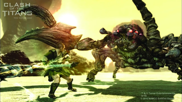 Clash Of The Titans - Xbox 360 - Multi5 - Captura 1