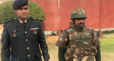 Indian Army Major Anoop Mishra develops world's 1st bulletproof helmet that can stop AK-47 firing