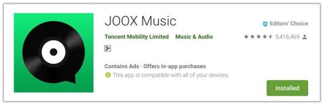 JOOX - Dengarkan Radio dan tonton Siaran Live Musik