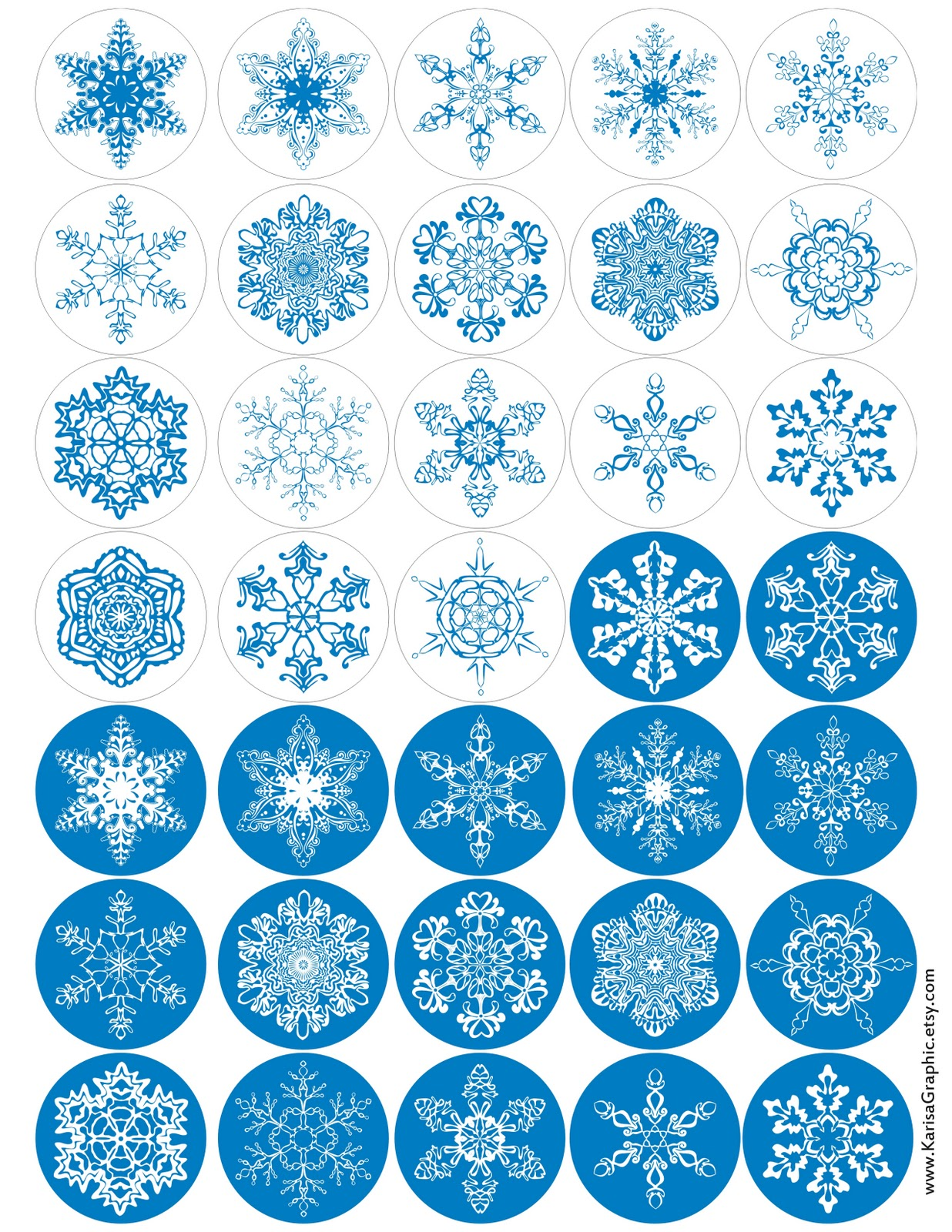 Etsy Russian Team Free Graphic Snowflakes And Christmas Alphabet