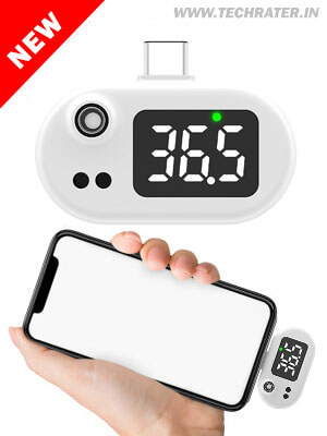 Mobile Infrared Thermometer - Quick Fever Measurement.
