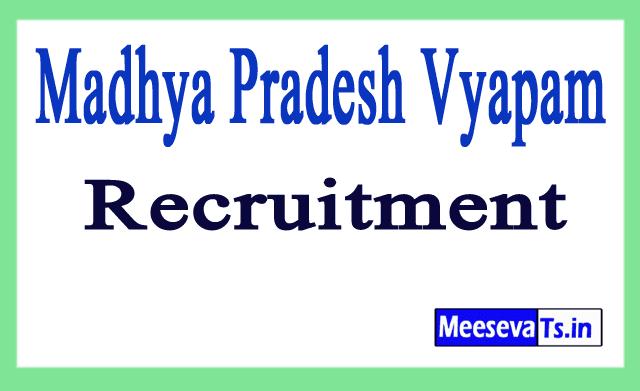 Madhya Pradesh Vyapam Recruitment