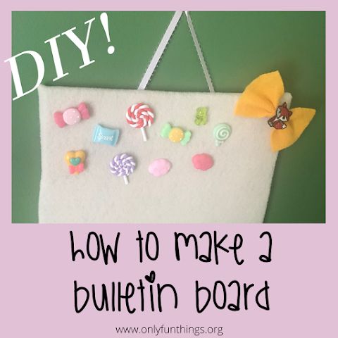 How to Make DIY Bulletin Board !