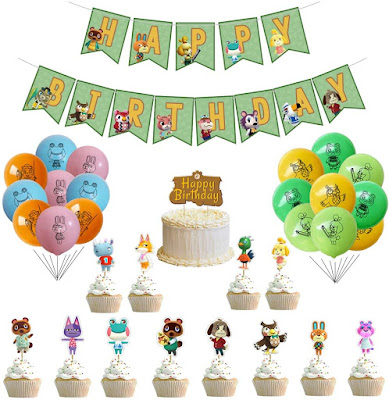 animal crossing birthday party
